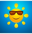 Smilng funny Sun vector image