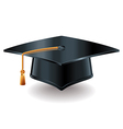 object grad hat vector image