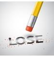 erase the lose vector image