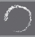 abstract circle on transparent background vector image