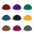 cloche icon in black style isolated on white vector image