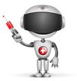 Robot Doctor vector image