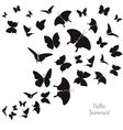 Butterflies for Fashion and Postcard vector image vector image