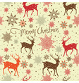 Vintage Christmas hand drawn backgrounds vector image vector image