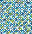 Abstract mosaic retro seamless pattern vector image vector image