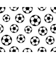 Football pattern vector image