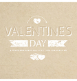 Template grunge paper valentines day card and bann vector image