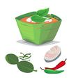 Thai food vector image