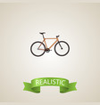 realistic wooden element of vector image