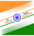 26 january republic day of iindia vector image