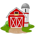 Farm vector image