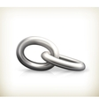Chain link icon vector image