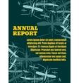 brochure report or flyer design template vector image
