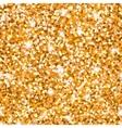 Abstract sparkle golden seamless pattern Metallic vector image