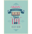 every moment vector image vector image