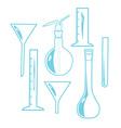 Laboratory Equipment vector image