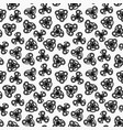 Hand spinners seamless pattern vector image