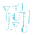 Laboratory Equipment vector image