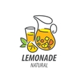 logo for lemonade vector image