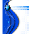 Clean Earth abstract concept vector image