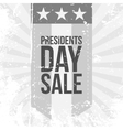 Presidents Day Sale Label vector image
