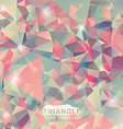 Abstract geometric colorful background vector image