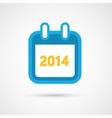 Calendar Icon - 2014 vector image