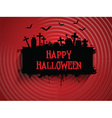 halloween background 2509 vector image