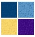 Wavy seamless set vector image