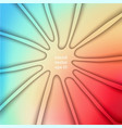 stylized abstract background vector image