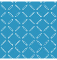 Linear art tools flat blue seamless pattern vector image vector image