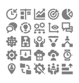 Project Management Icons 2 vector image