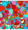 Beautiful colorful heart vector image vector image
