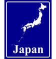 Japan vector image