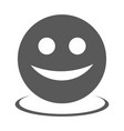 smile icon simple vector image