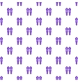 Hockey knee pads pattern cartoon style vector image