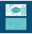 blue and gray plants horizontal frame pattern vector image vector image