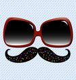 Summer Fun Mustache vector image