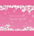 cherry blossom background 12 vector image