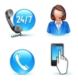 Customer service support vector image