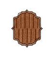 vintage frame emblem vector image