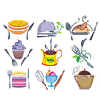 Set of icons and elements for ood vector image