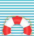 lifebuoy photo-realistic on vector image