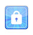 version Lock icon Eps 10 vector image vector image