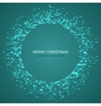 modern christmas background Invitation of vector image