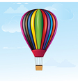 hotair balloon vector image vector image