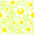 Field of Daisies Seamless Pattern EPS10 vector image