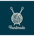 Handmade line icon vector image