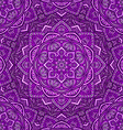 violet floral ornament background vector image