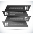 Abstract infographic template vector image